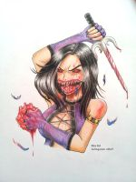 Mileena the Ghoul by atta9