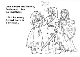 The Sword and the Sheath by Adella
