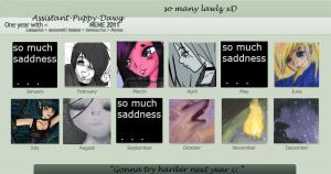 Art Summary of 2011 by Assistant-Puppy-Dawg