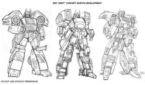 DRIFT - early sketches by GuidoGuidi