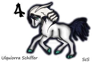 Ulquiorra Chibi Pony by TowaTheStallion45