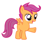 Scootaloo wants you out by Orschmann