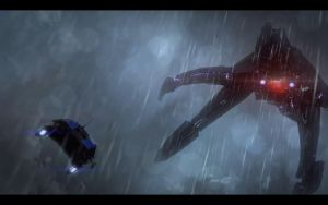 ME3 A Reaper Attacks by chicksaw2002
