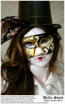 Top Hat n Mask by Della-Stock