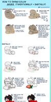 Grub Drawing/Coloring Tutorial by Slayer4949