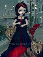 Wolves of Venice by jasminetoad