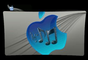 Apple music folder by Theresa42J