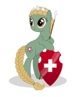Helvetia the pony by Nianara