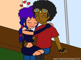 V-Day pic: Shonnie and Sarna by Flashshadow