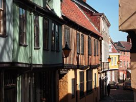 Old Norwich Ways by DanielBrooksLaurent