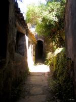Passage With Arch Door by Boias