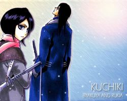 Byakuya and Rukia by WhiteMoon06