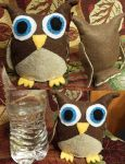 Owl Plushie Pattern by dragons011