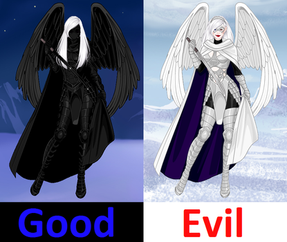 Duality of Good and Evil by DarkKomet