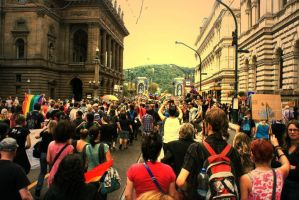 The First Prague Gay Pride-2 by calliopeem