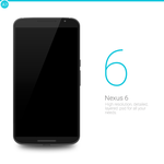 Nexus 6 : PSD by danishprakash
