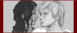 Arthur and Guinevere by zar33n