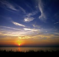 Sunset on the Bay by NorthOne