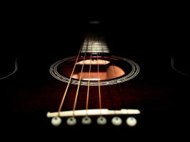 acoustic guitar by johnnie93