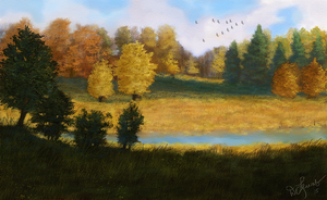Autumn Afternoon 2 by ghost549