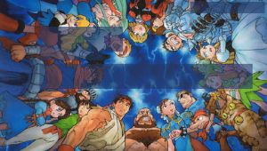 All Capcom Characters - PSP by iFab