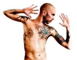 Me and my tattoos by Hardcoreboy