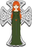 Celtic Maiden by animelife4ever
