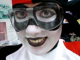 Harley with Goggles by ClownGirlHarley