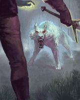 The White Wolf by Viking-Heart
