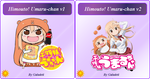 Himouto! Umaru-chan icons by Galadeii by Galadeii