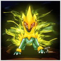 Pokemon of the Week - Manectric by Noyle
