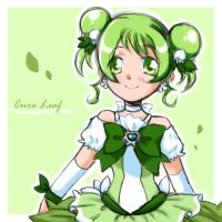 HeartCatch - Cure Leaf again by maia-7