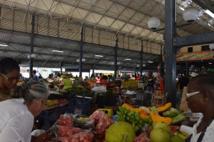 Big market hall to Fort De France by A1Z2E3R