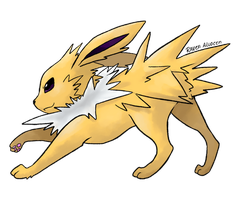 #135 Jolteon by allocen
