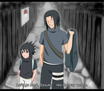 Itachi and Sasuke: The End by SamanthaLi