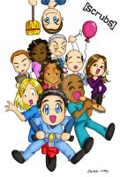 Chibi Scrubs by girl0in0question