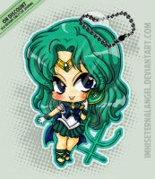 [OLD] Super Sailor Neptune Keychains by ImHisEternalAngel