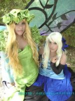 The Fairy Queen and the princess of Ragnanival by LiliumLucy13