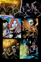 Coloring - Planet of the Apes P5. by andreranulfo