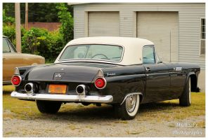 A Black 1955 Thunderbird by TheMan268