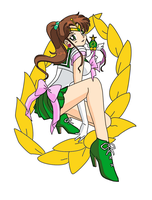 Sailor Jupiter - The Glory by Shadowice-Wolf