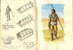 Archaeological reconstruction warrior Brettiian 02 by Panaiotis