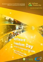 Software freedom day flyer by yacine29