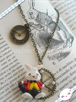 Alice in Wonderland - Rabbit by AyumiDesign