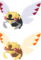 Vector - Ninjask by TaerkEX