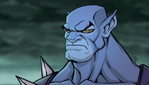 Panthro Bust by Chadwick-J-Coleman