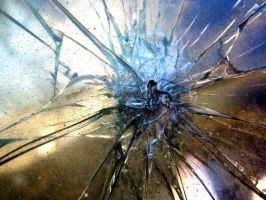 Smashed Glass by RavenMaddArtwork