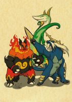 The Rulers of Unova by WPgdea