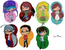 Key-Chains - LP Pack in Color by Medi-EXE