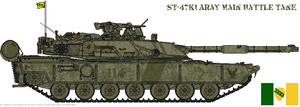 ST-47K1 Aray MBT FINAL? by AC710N87